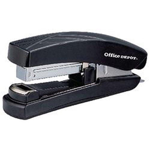 flat-clinch-stapler-full-strip-30-sheets-all-metal-design-extra-soft-grip-handle-modern-stylish-blac