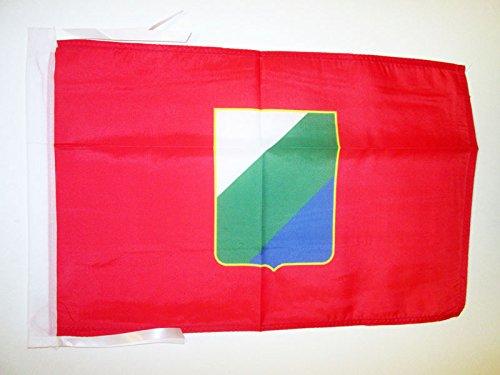 Az flag bandiera abruzzo 45x30cm - bandierina abruzzi - regione italia 30 x 45 cm cordicelle