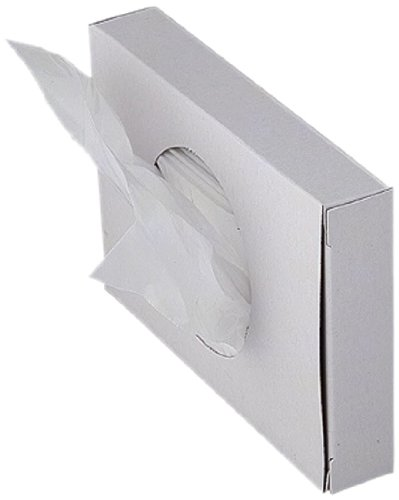 Keuco 04976000100 Universal Hygienebeutel 50 Packs mit je 25 Stück, weiß