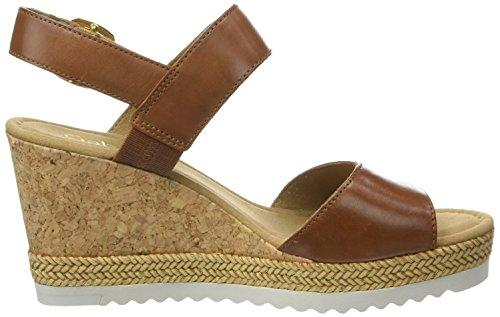Gabor Damen Fashion-65.79 Plateau Braun (peanut 22)