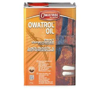 OWATROL-ÖL -Blattrostentferner, Rostkonservierung und Rostversiegelung