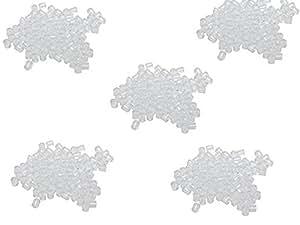 200 FERMOIRS EMBOUTS PLASTIQUE FORME TUBE POUR BOUCLES D'OREILLES (4,19 grs) - LIVRAISON GRATUITE - CREATION BIJOUX PERLES