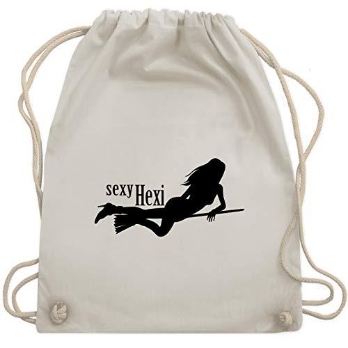 Halloween - sexy Hexy - Unisize - Naturweiß - WM110 - Turnbeutel & Gym Bag