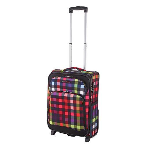 Rada Trolley Rainbow T1 (37,5 x 55 x 25 cm), wasserabweisender Handgepäck Koffer, Handgepäck Koffer mit 43 Liter Volumen, geeignet für die Mitnahme an Bord des Flugzeugs