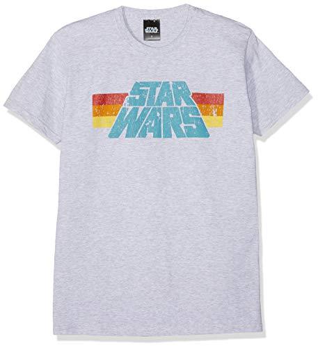 Star Wars Vintage 77 T-Shirt grau meliert 5XL