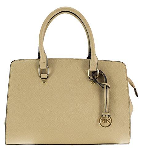 8f68a7a958506 MIK Glamour Trendy Elegant Damen Schultertasche Handtasche PU-Ledertasche  (Khaki)