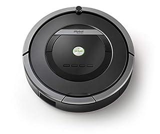 iRobot Roomba 871 Aspirateur Robot, Système de Nettoyage anti - Emmêlement avec Capteurs de Poussière Dirt Detect, Aspire Tapis et sols durs, Idéal pour les Poils d'Animaux, Nettoie Selon votre Programmation, Gris (B00O1UNC0K) | Amazon price tracker / tracking, Amazon price history charts, Amazon price watches, Amazon price drop alerts
