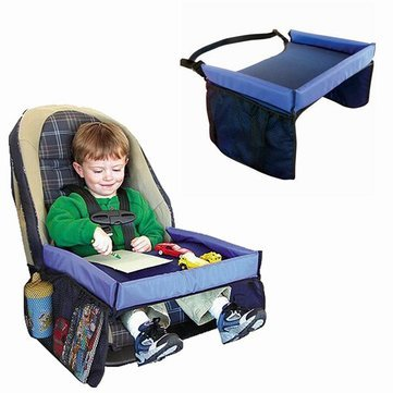 Generic New Child Waterproof Safety Seat Kids Snack Car Play Table Tray Drawing Board