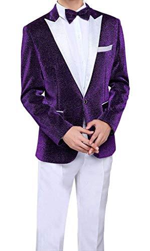 bee66f96e26cd6 foto Smoking Da Tuxedo Smoking Suit Giovane 1 Suit Tute Giacche Pezzo Giacca  Sportiva Con Bottone