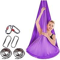 ZKOOO Hamaca de Yoga Nailon Antigravedad Swing Sling Inversión para Pilates  Gimnasia 400   280CM a3e192eb875b