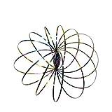 Momola Vente chaude Flow Anneaux Kinetic Printemps Bracelet Sensory Interactive Cool Jouets, Fun Kinetic Incroyable 3D Sculpture Bras En Métal Spinner Jouet Pour Enfants Adultes