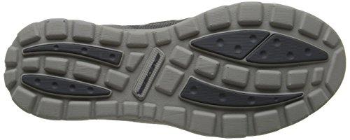 Skechers SuperiorMilford, Chaussures de ville homme Gris (Ccgy)