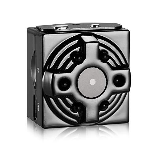 Omiky® Sportkamera, Mini-DV-CAM-WLAN-IP-Netzwerkkamera 1080P HD Nanny Recorder Night Vision (Schwarz)