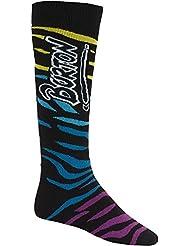 Calcetines de snowboard para hombre Burton MB Party SK, otoño/invierno, hombre, color Varios colores - beige, tamaño small