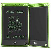 Doosl Tableta de Escritura LCD, Tableta para Escribir y Hacer Bocetos de 8,5 Pulgadas - Tableta de Escritura Mini Pad Tableta de Dibujo para Uso en la Escuela, el Hogar, la Oficina y los Viajes-Verde
