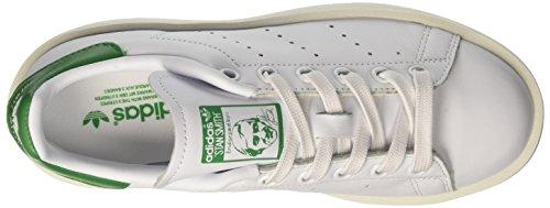 adidas Damen Stan Smith Bold Sneaker Low Hals, Weiß Elfenbein (Ftwr White/ftwr White/green)
