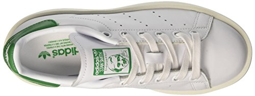 adidas Stan Smith Bold, Scarpe da Ginnastica Basse Donna Bianco (Ftwbla/Verde)