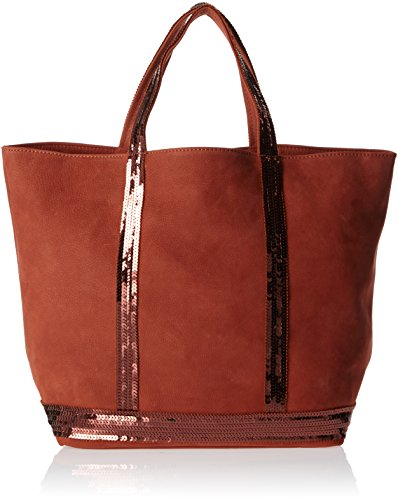 Vanessa Bruno 0PVE01, Borsa a Mano Donna Arancione (Orange Ginger)