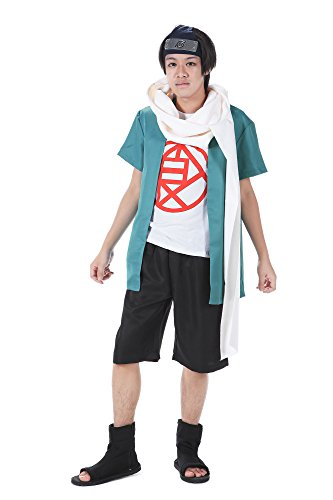 De-Cos Cosplay Costume Hidden Leaf Village Genin Akimichi -