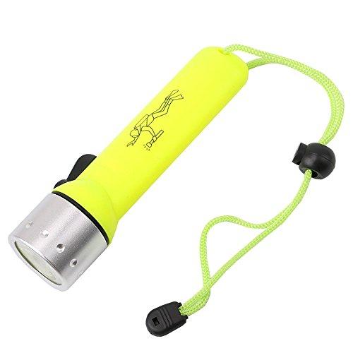 GHC LED Lights, LED Lampe Laterne Dropshipping Wasserdicht Tauchen Taschenlampe Unterwasser Blitzlicht Taschenlampe für Taucher (1PCS)