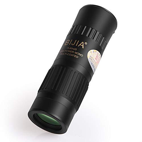 JohnnyLuLu Telescopio monocular Alta Potencia 15x-80x