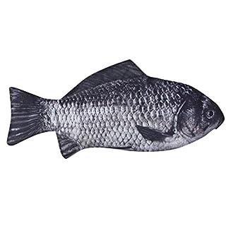 Carp Pen Bag,AmaMary Lifelike Fish Shape Make-up Pouch Pen Pencil Case With Zipper