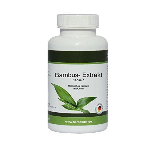 Bambus Extrakt mit natürlichen Silizium und Cholin- hochdosiert