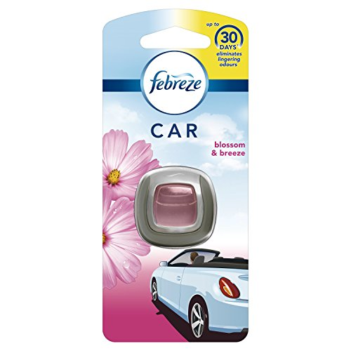 Febreze Car Blossom und Breeze Clip Lufterfrischer, 6Stück -