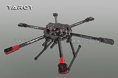Tarot Iron Man FY690S klappbarer Carbon Hexacopter Rahmen Durchm. 685mm TL68C01