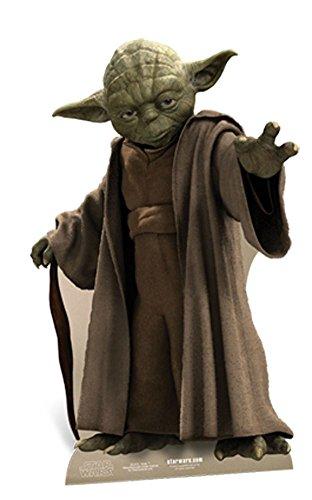 Star wars-yoda en carton-standy env. 76 cm