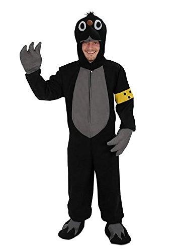 Kostüm Maulwurf - Maulwurf offen Einheitsgrösse L-XL Kostüm Fasching Karneval Maskottchen