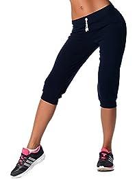 EloModa® 3/4 Hose Sport-Hose Baumwolle mit Lycra, Gr. S M L XL XXL 3XL, p960