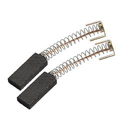 Pair 4mm X 8mm X 20 Mm Generic Electric Motor Repair Part Carbon Brush