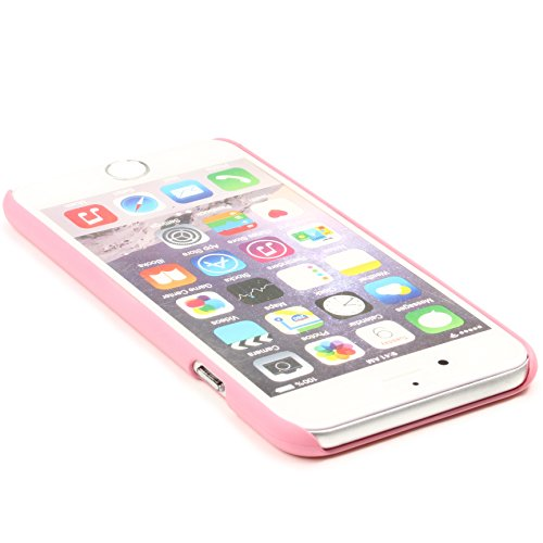 Apple iPhone 6 Plus / 6s Plus Handyhülle von original Urcover® in der Premium Feather Edition Backcase Schutzhülle Case Cover Etui Rosa Rosa
