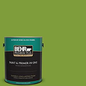 Behr premium plus 1 gal t14 18 new shoot semi gloss for Where is behr paint sold