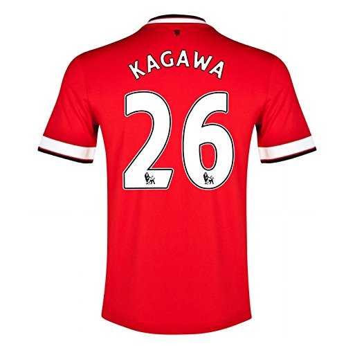 Nike Men's Manchester United Stadion Trikot Short Sleeve Home Jersey Kagawa 26