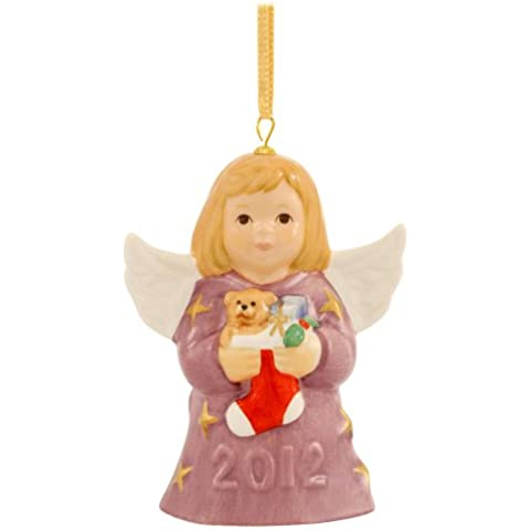2012 Goebel FECHA anual ángel campana decorativa 37th edición de nuez moscada