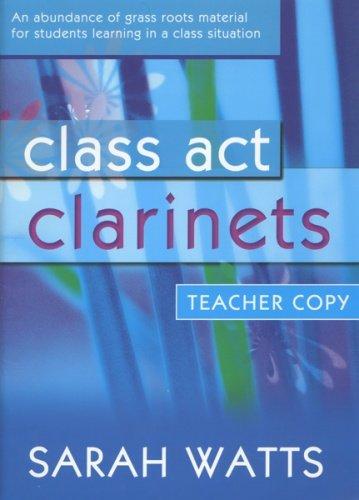 class-act-clarinets-teachers-book-sarah-watts