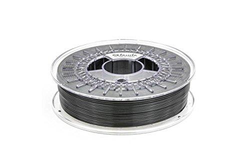 extrudr® TPU medium ø1.75mm (750gr) - 3D Drucker Filament SCHWARZ (RAL9017) -