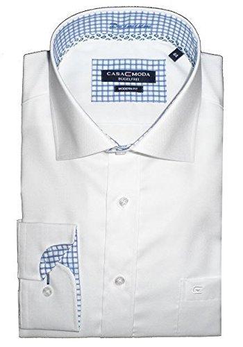 CASA MODA Herren Business-Hemd * Einheitsgröße Weiß