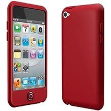 E9Q Caso de la piel cubierta Nueva silicona para Apple iPod Touch 4 4G