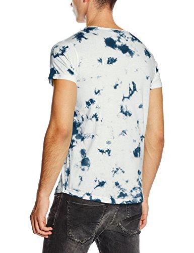 HOPE'N LIFE Herren T-Shirt Yael Blau - Blau (Navy)