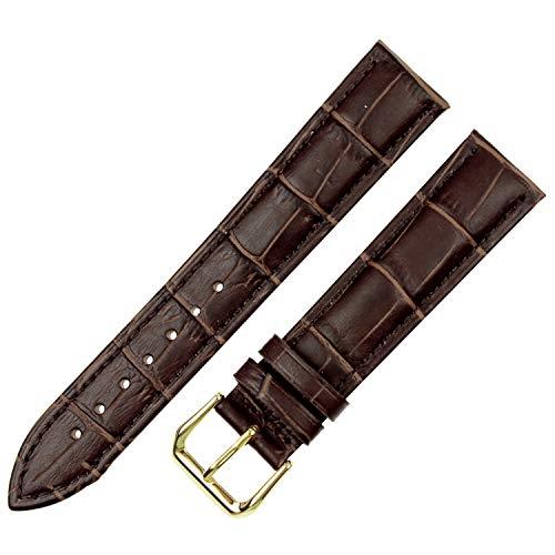 Armband 18mm 19mm 20mm Armbanduhr männer 21mm 22mm 24mm Kalbsleder Uhrenarmband Butterfly Schnalle Strap Genitalsit-Watchstrap-Lins1397 Zubehör -