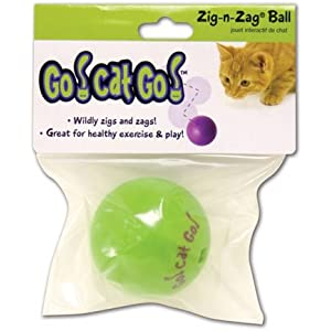 Go Cat Go! - Color: No - Zig N Zag Ball
