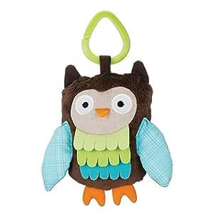 Skip hop Treetop Friends Owl Stroller Toy, Multi Color