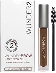 WUNDER2 WunderBrow Eye Brow Gel - perfekte Augenbrauen in weniger als 2 Minuten, Farbe: Auburn