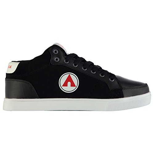 airwalk-drip-mid-top-skate-shoes-mens-black-white-red-trainers-sneakers-footwear-uk7-eu41