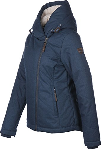 RW 172160019 Gordon warme Winterjacke mit gefütteter Kapuze Blau