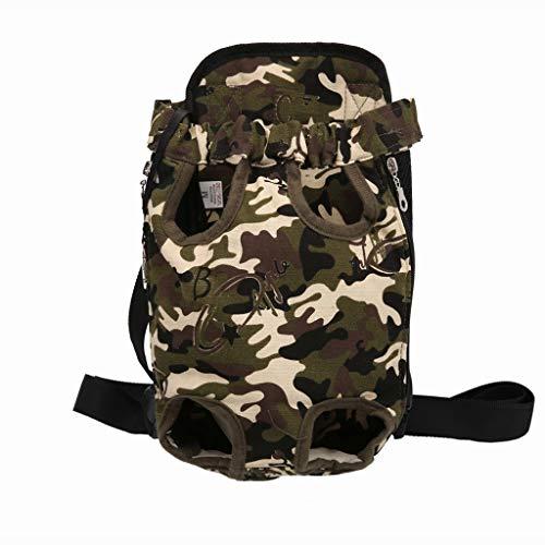 Wtbew-u Haustier-Rucksack, Haustier-Brusttasche, Haustier Heraus, Tragbarer Gürtel, Haustier-Versorgungsmaterialien (Size : M) -