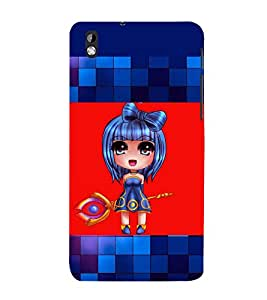 printtech Anime Girl Scepter Back Case Cover for HTC Desire 816::HTC Desire 816 G